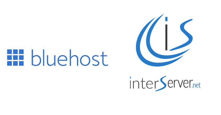 bluehost vs interserver