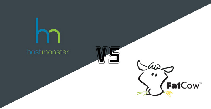 HostMonster vs Fatcow Web Hosting Comparison featured image