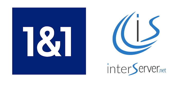 1AND1 VS INTERSERVER WEB HOSTING COMPARISON